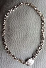 """TIFFANY & Co -  Collier Choker / necklace - Argent,  """"please return to"""""""