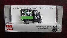 Busch HO 1/87 Piaggio Ape 50 Welde No 1 Beer 48467 NIP