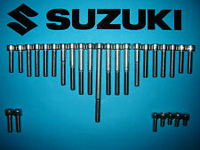 Suzuki GT250 GT 250 250cc to 1977 Stainless Allen Screw Set Engine *UK FREEPOST*