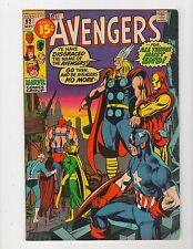Avengers # 92 - Neal Adams cover - 5.5 Fine - High Resolution Scans!!