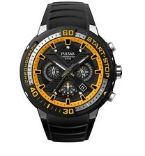 PT3643X1 Pulsar Gent Paul Luc Ronchetti Limited Edition Chronograph Sports Watch