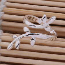 New fashion 925 Sterling silver the branch of tree ring adjustable hot gift