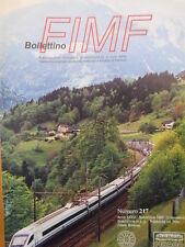 Bollettino treni FIMF n°217 ETR 470 il Pendolino Cisalpino [TR.33]