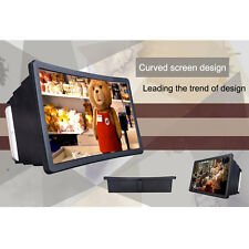 Mobile Phone Screen Magnifier Expander Stand Holder for 3D Movie Display
