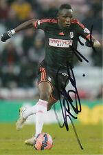 FULHAM HAND SIGNED SEKO FOFANA 6X4 PHOTO 1.