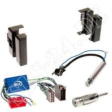Einbaurahmen Radioblende+Adapterkabel Einbauset für Audi A4 (B5) A6 (C4) A8 (D2)