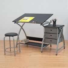 Drafting Table Adjustable Craft Stencil Work Station Desk Art Drawing Tracing G