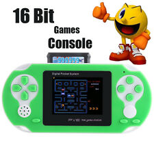 16 bit Handheld Game Console Portable Video Game 150+ Games Retro Megadrive PXP