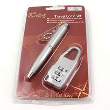 Travel Kit cadenas serrure combinaison stylo allés Voyage Boyz Toys code de sécurité