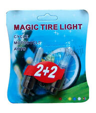 Motion Sensor Bike Cycle Car Magic Tyre LED Colorful Flash Flashing Light