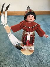 Elke Hutchens Indian Boy Doll 1993