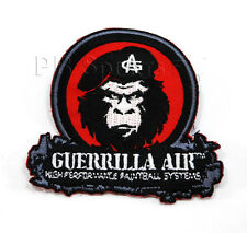 Guerrilla Air Sew on Patch Vest Paintball Black Red