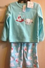 carters KIDS  PYJAMAS FLEECE  PJS 2 PIECE SET for girls