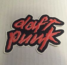 DAFT PUNK - HOMEWORK album promo sticker from TWILO in 1997