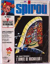 a) SPIROU n°1842  sans le Western géant/ Interview 4p Paul Emile Victor