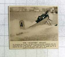 1919 Discarded Seaplanes Converted Into Water Scooters In The Us