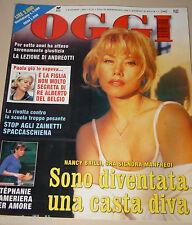 OGGI=1999/45=NANCY BRILLI=VARESE LIGURE=VICTORIA SILVSTEDT=IL BORRO FERRAGAMO=