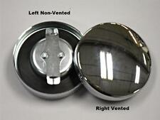 61103/61103-65R 1965-1972  PANHEAD SHOVELHEAD CHROME GAS CAP SET