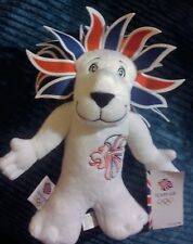 RIO 2016 OLYMPICS TEAM GB LION MASCOT PRIDE THE LION OFFICIAL MERCHANDISE BNWT
