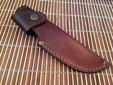 Hand Made Well Stitched Cowhide Leather Hard Sheath- Knives-JayGer LS1
