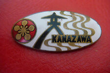 OLD VERY RARE CITY OF KANAZAWA JAPAN ENAMELLED BADGE