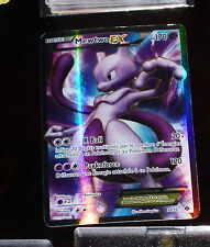 POKEMON ULTRA RARE CARD MEWTWO EX FULL ART CARTE 98/99 VF FR PV170
