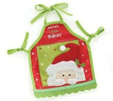 "Christmas Santa Apron for American Girl or KNC Perfect for Grace! - 18"" dolls"