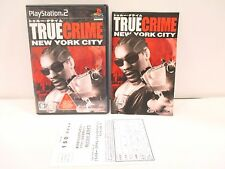 PlayStation2 - TRUE CRIME NEW YORK CITY - PS2. JAPAN GAME. Work fully! 47329