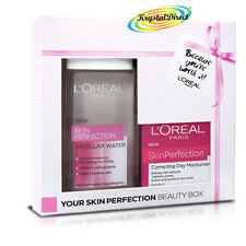 L'oreal Skin Perfection Day Cream & Micellar Water Christmas Beauty Box Gift Set