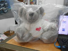 NOS Vintage 1983 Snuggable Bear W/ White Shirt His Name Is Trueheart