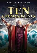 THE TEN COMMANDMENTS (2013 DVD)/2-DISC/CHARLTON HESTON/WIDESCREEN/SEALED!!