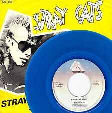 "7"" Stray Cats – Stray Cat Strut / Blue Wax // Very Rare Dutch 1981"