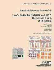 User's Guide for RM 8096 and 8097: the MEMS 5-In-1, 2013 Edition by U. S....