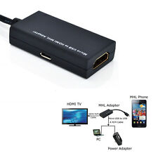 MHL Micro USB to HDMI Adapter HDTV AV Cable for Galaxy S2 New