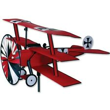 Fokker Tri-plane Staked Airplane (Red Baron) Staked Wind Spinner Premier 26306
