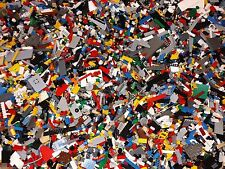 One Pound of Legos with 3 Bonus MINIFIGURES Random figures Star Wars Ninjago etc