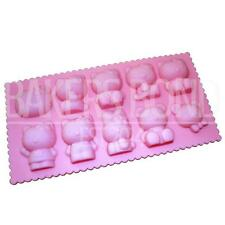 Hello Kitty Bunny Bear Silicone Mould Cake Reusable Baking Ice Icing Cupcake