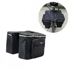 Large Cycle Bicycle Bag Bike Double Side Panniers Rear Rack Tail Seat Trunk Bag