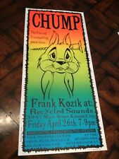 1996 Kozik Silkscreen Concert Art Exhibition POSTER for PORNHUSKERS Iron Rite