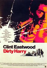 Harry El Sucio (Clint Eastwood) Tamaño Completo US Cinema Poster