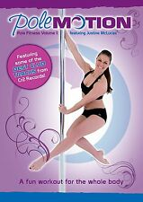 Pole Motion Pole Fitness Volume 1 DVD Dance/Strength/Fit/Spin/Twirl/Workout/NEW