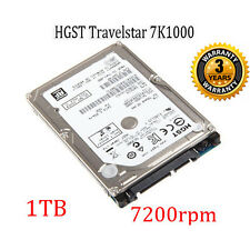 "BRAND NEW 1TB 2.5"" HGST 7K1000 SATA Internal Hard Drive 7200RPM  PS3 MAC PS4"