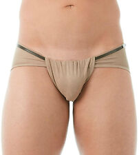GREGG HOMME WILD WEST FAUX SUEDE LOIN CLOTH BRIEF CHARCOAL Medium 142203