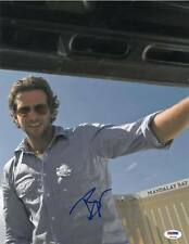 Bradley Cooper Signed Hangover Authentic Autographed 11x14 Photo PSA/DNA #T51434