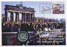 Vatikan 2014 amtl. Numisbrief mit 2 Euro GM 25 Jahre Fall Berliner Mauer, sofort