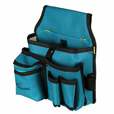 1pcs Hardware Mechanics Canvas Tool Bag Utility Pocket Pouch Utility Belt Bag