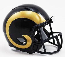 NUOVO Football Americano NFL Riddell velocità Pocket Pro Casco L a RAMS