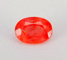 TOP HEAT ONLY SAPPHIRE : 1,35 Ct Natürlicher Orange Saphir aus Madagaskar