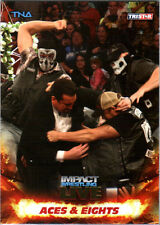 TNA Aces & Eights #62 2013 Impact Wrestling LIVE GOLD Parallel Card SN 4 of 50