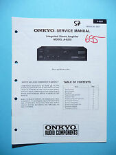 Service Manual für Onkyo A-8220 ,ORIGINAL